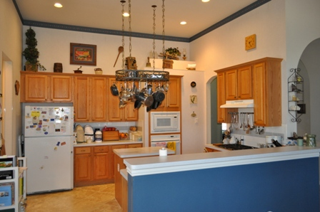 Unbelievably, This 1990u0027s Kitchen Was Transformed Into An Elegant Custom  Design In Only 10 Days !!! Major Changes Included Lowering The Breakfast  Bar To ...